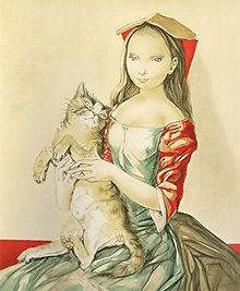 1886年(明治19)、現在の東京都新宿区新小川町の陸軍軍医の家に生まれたフジタは、父の上司だった森鷗外の勧めもあり東京美術学校西洋画科に入学。当時主流であった明るい外光派風の洋画にあきたらず、1913年、26歳の時にフランスにわたります。  パリのモンパルナスに住んだフジタは、ピカソやヴァン・ドンゲン、モディリアーニらエコール・ド・パリの画家たちと交流しました。彼らに刺激され、独自のスタイルを追究するなかで、日本や東洋の絵画の支持体である紙や絹の優美な質感を、油絵で再現しようと思いつきます。手製のなめらかなカンヴァスの上に、面相筆と墨で細い輪郭線を引き、繊細な陰影を施した裸婦像は、「素晴らしい白い下地(grand fond blanc)」「乳白色の肌」と呼ばれて絶賛されました。1919年にはサロン・ドートンヌに出品した6点の油絵がすべて入選し、ただちに会員に推挙されるなど、フジタの作品はパリで大人気となりました。  1929年、凱旋帰国展のため16年ぶりに一時帰国。1933年以降は日本を活動の拠点とします。日中戦争がはじまると、祖国への貢献を願い大画面の戦争画の制作に没頭しますが、戦後は画壇から戦争協力者として批判を浴び、その責任をとる形で日本を離れます。   再びパリに暮らし始め、日本には戻らないと決めたフジタは、1955年にフランス国籍を取得。1959年、72歳の時にランスの大聖堂でカトリックの洗礼を受け、レオナールという洗礼名を与えられます。最晩年には、ランスに感謝を示したいと礼拝堂「シャぺル・ノートル=ダム・ド・ラ・ペ(通称シャペル・フジタ)」の建設を志し、完成から2年後に没しました。