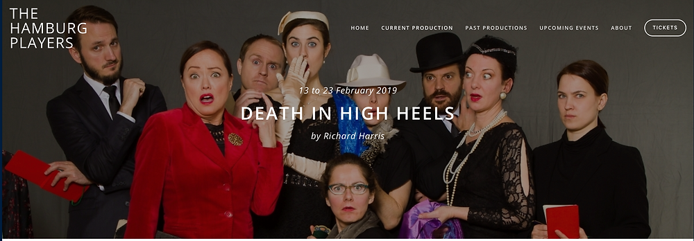 """""""Death in High Heels"""" with THE HAMBURG PLAYERS"""