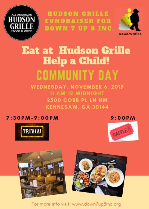 D7U8 - Hudson Grille Fundraiser