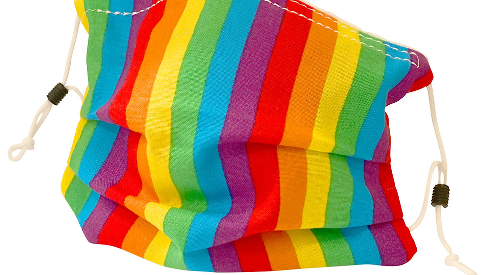 Rainbow Pattern Face Mask  - Suggested Donation