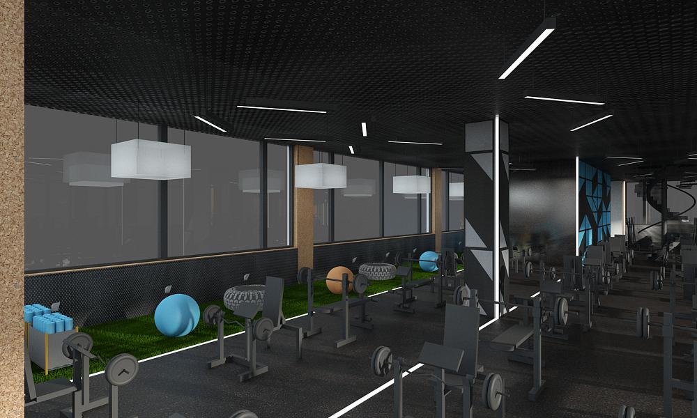 Sala de sport fitness 16