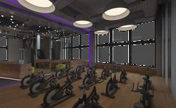 Sala de sport fitness 03