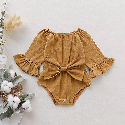 Romper with bow