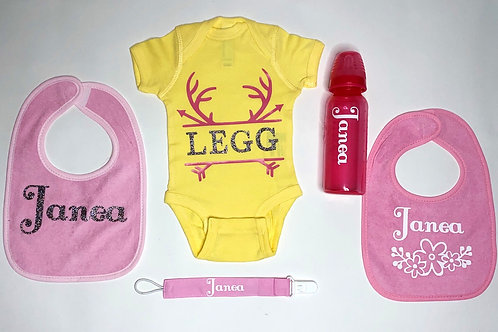 Personalized baby set