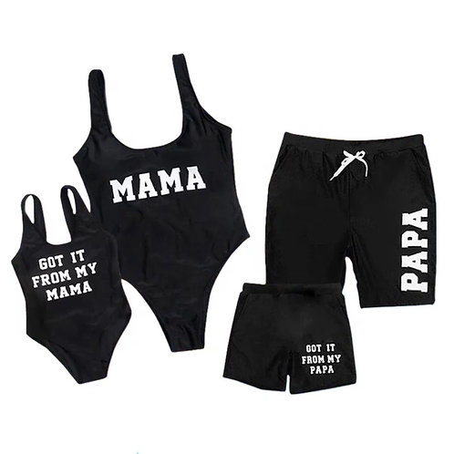 Matching Family Swimwear