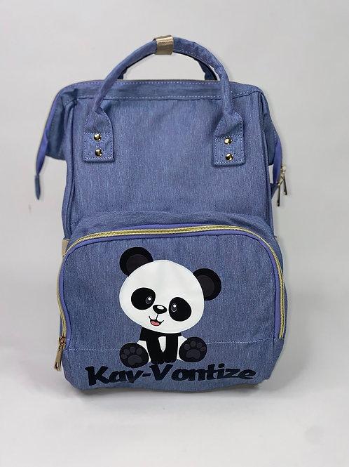 Personalized stylish diaper bag