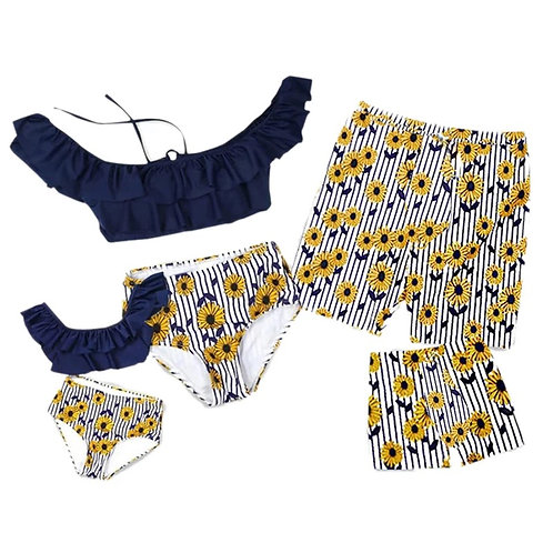 Sunflower Matching Swimwear 🌻