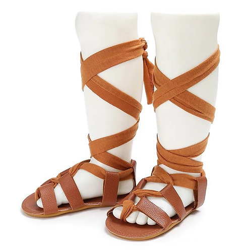 Laced Up Sandals