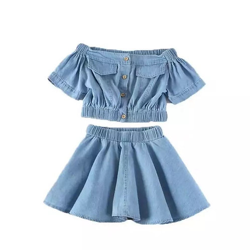 Denim fly away set