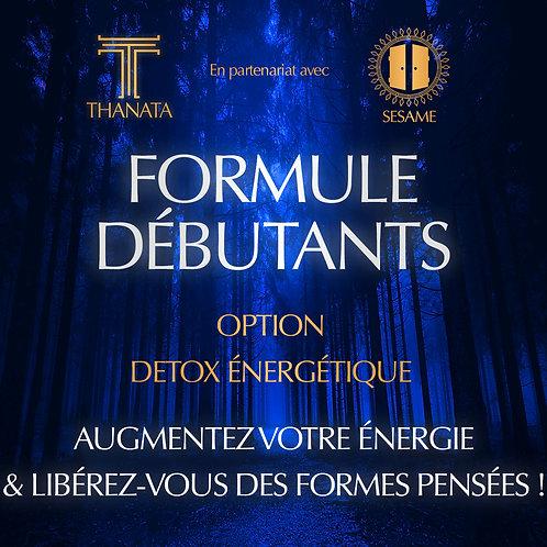 FORMULE DEBUTANTS - Option Detox Energetique
