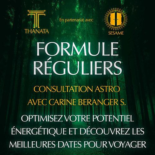 FORMULE REGULIERS - Consultation Astro Carine Beranger