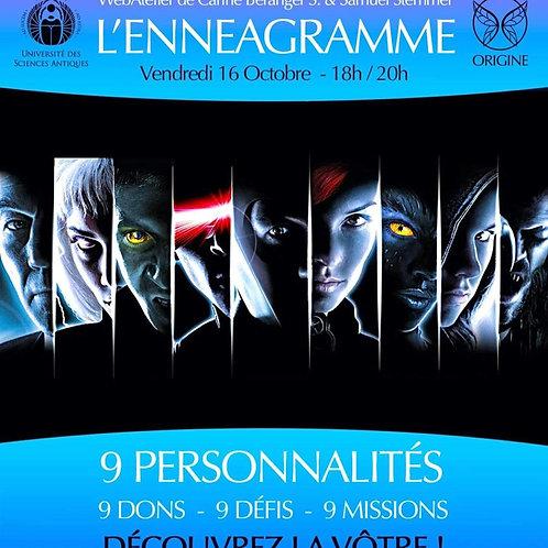 • L'ENNEAGRAMME • Vendredi 16 Octobre - 18h/20h