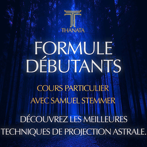 FORMULE DEBUTANTS - Cours de Samuel Stemmer