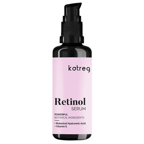 Powerful Botanical Retinol serum - 2,5% with Botanical Hyaluronic Acid - 50 ml