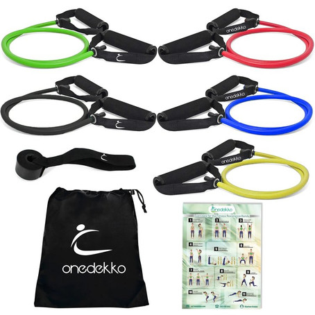 My favorite exercises and videos for the Resistance bands with Handles
