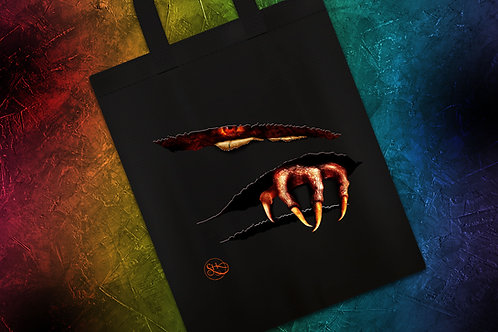 Imp and the Beast Tote Bags