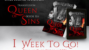 Queen of Sins - 1 week to go!!