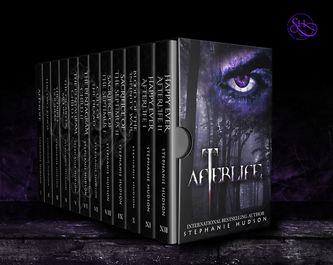 Afterlife Saga - Full Series Paperback Boxset.