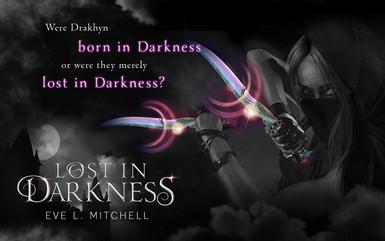 Lost in Darkness teaser graphic - dark o