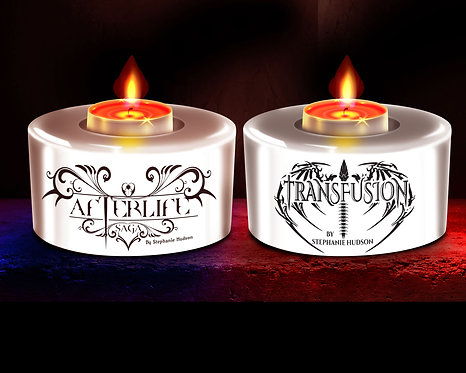 Set of Two Tealight Holders