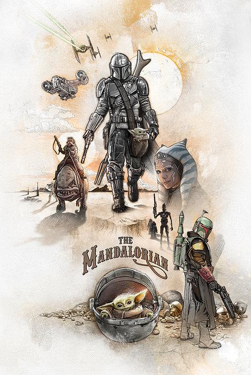 The Mandalorian - Helmet On, Heart Gone