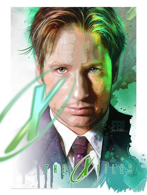 "X-Files - Fox Mulder ""I Want to Believe"""