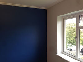 Buckhurst Hill bedroom re painted