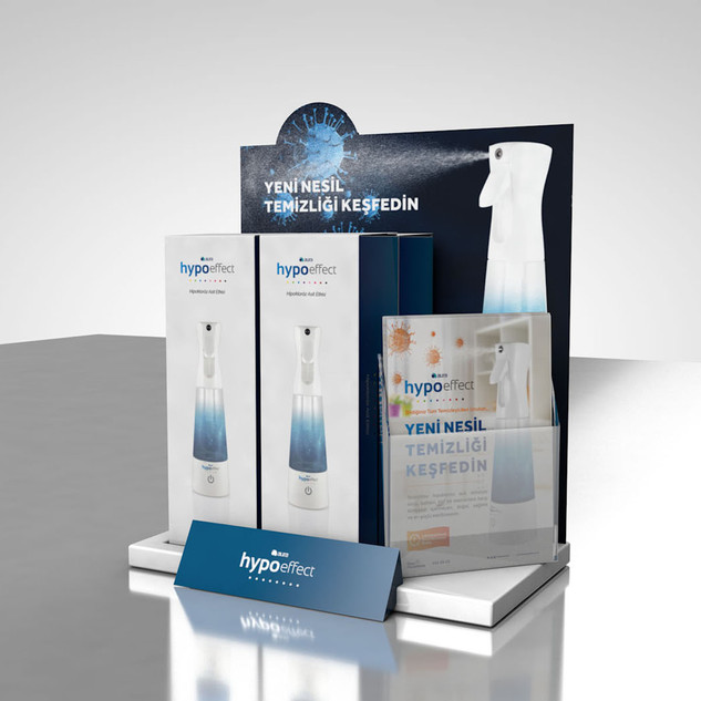 Hypo Effect Product Display 2020