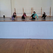The lyrical girls are working hard on th