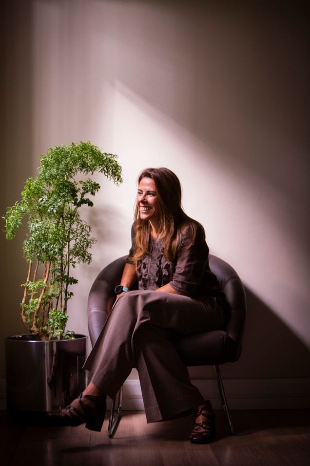 Ana Elisa Siqueira, psychologist.