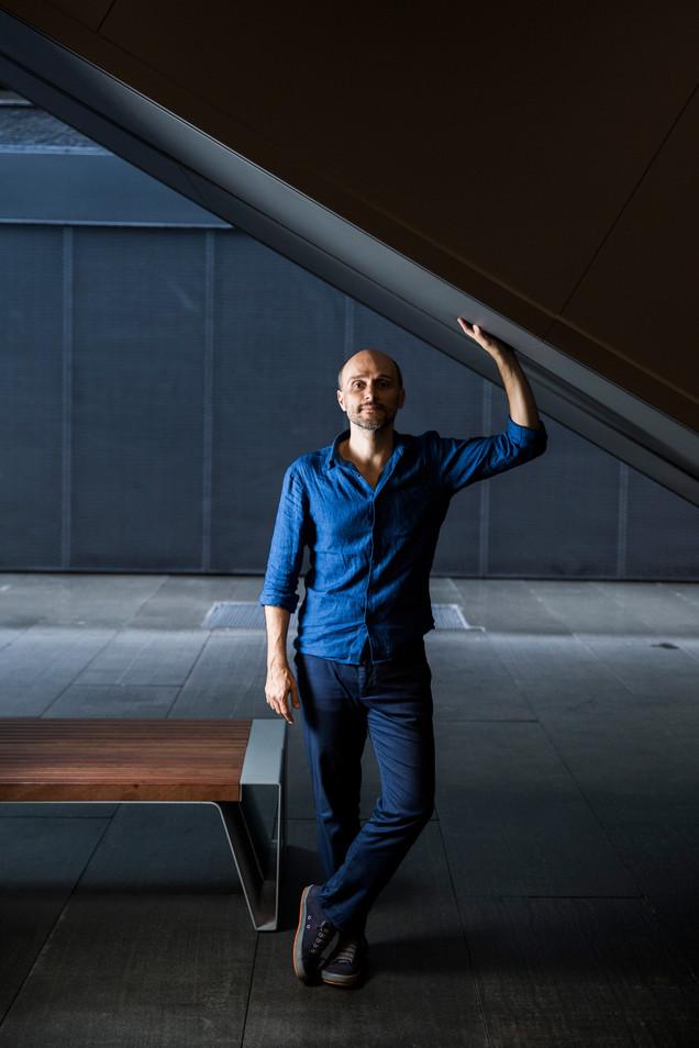 Thyago Nogueira, photography curator.