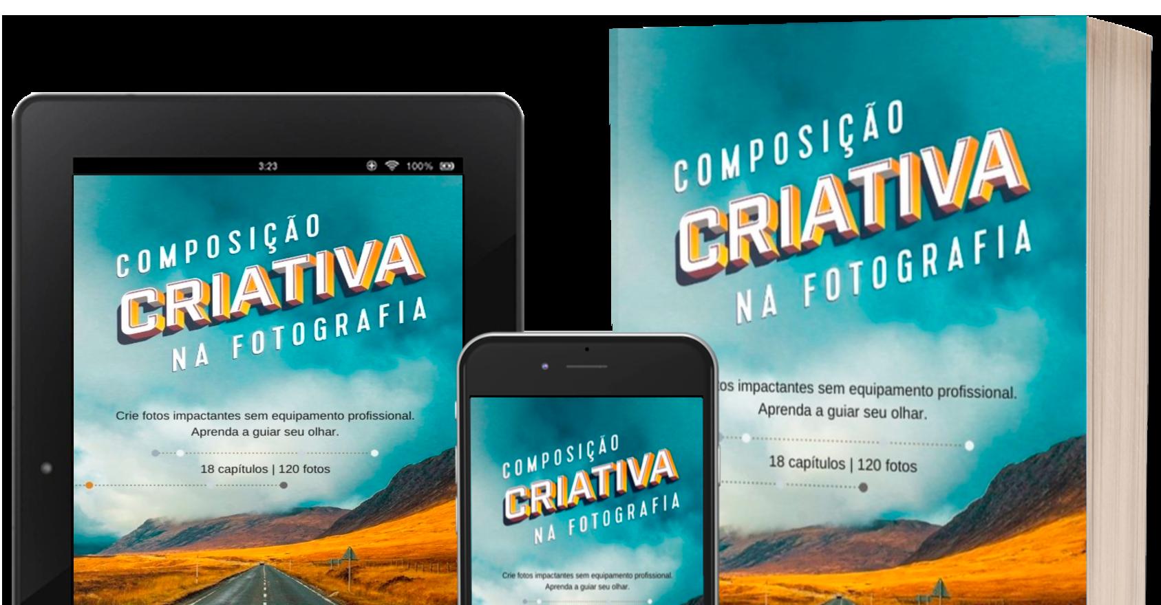 """E-book """"Composição Criativa na Fotografia"""""""
