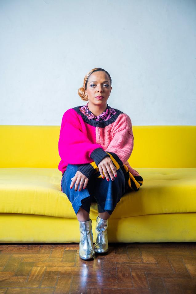Anelis Assumpção, singer.