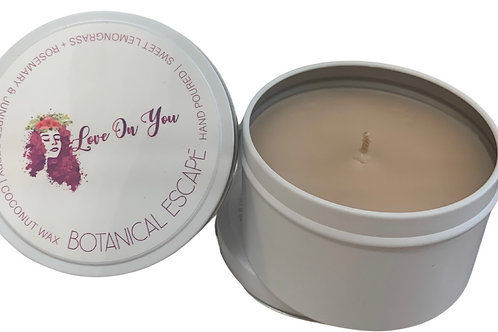 Large Hand Poured Soy Candle