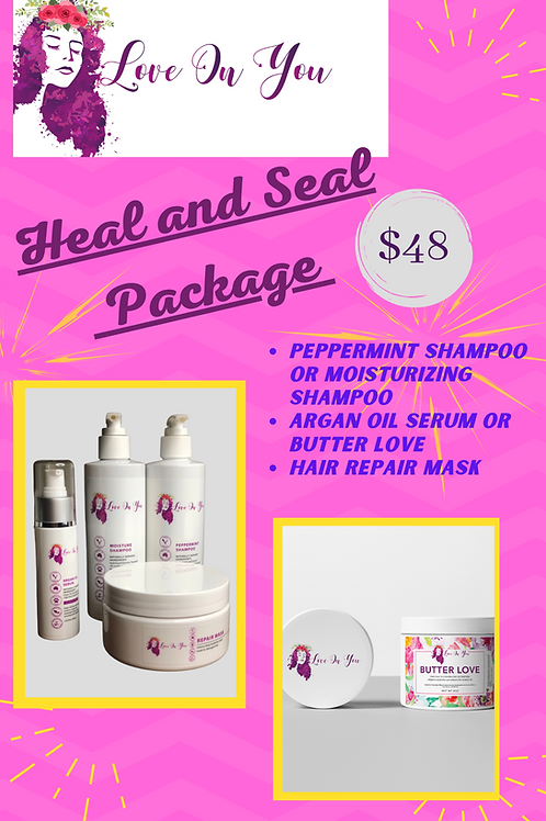 Heal and Seal Package