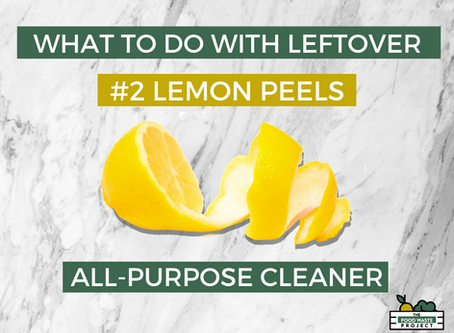 What to do with leftover Lemon Peels