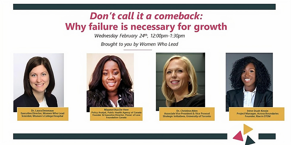 Don't call it a comeback: Why failure is necessary for growth