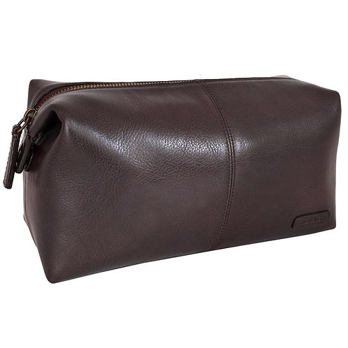 Charles Leather Shave Toilet/Travel Kit