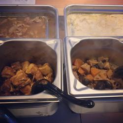 豚の角煮と筑前煮