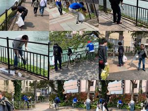地域を清掃活動
