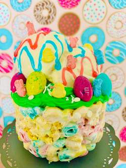 Easter inspired cereal bowl