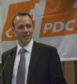 Président du PDC ville de Fribourg en 2011