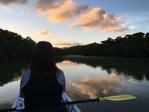 石垣島のおすすめツアー!夕暮れナイトカヌー