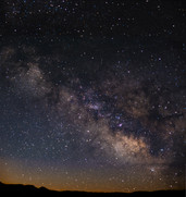 Final Milky Way pano stack Bryce Canyon