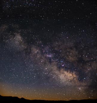 Final Milky Way pano stack Bryce Canyon.