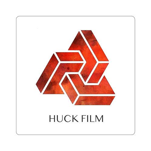 Huck Film Red Sticker