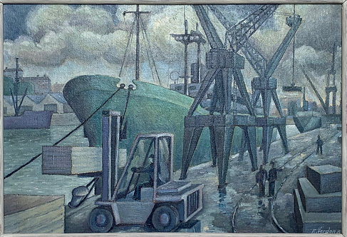 Les docks de St Malo
