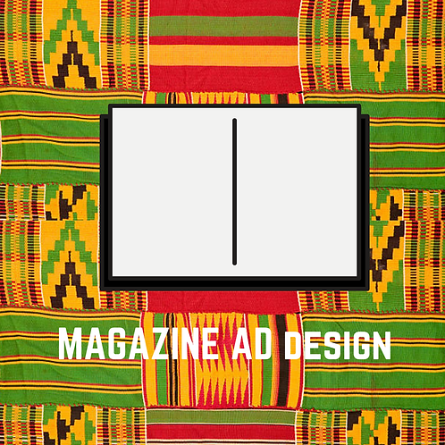 Magazine Advertisement Design