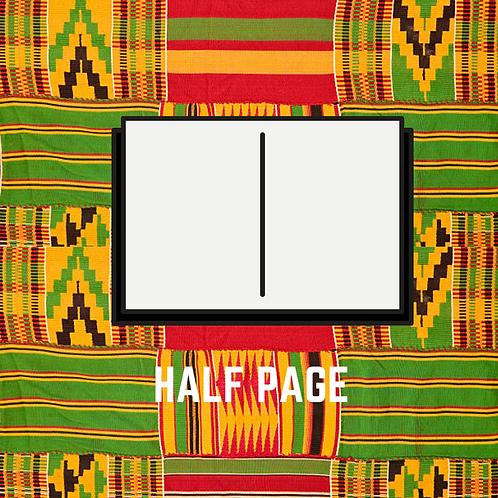 Half Page