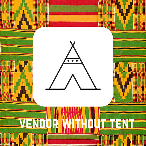 Vendor Without Tent 2 DAY PASS